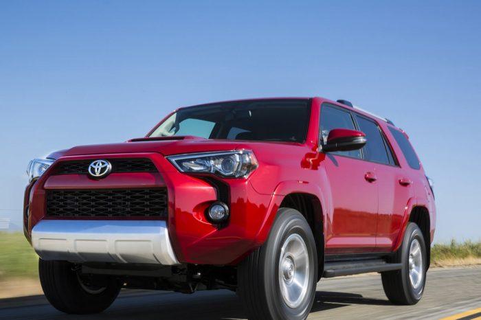 Toyota 4 Runner or similar